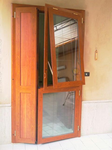 Porte in alluminio e vetro per esterni pannelli termoisolanti - Porte in alluminio per esterni prezzi ...