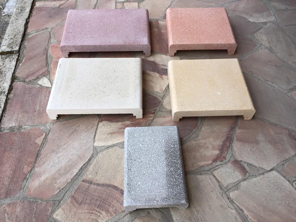 Coprimuro Coprigradini Copriscale E Capiteste In Cemento