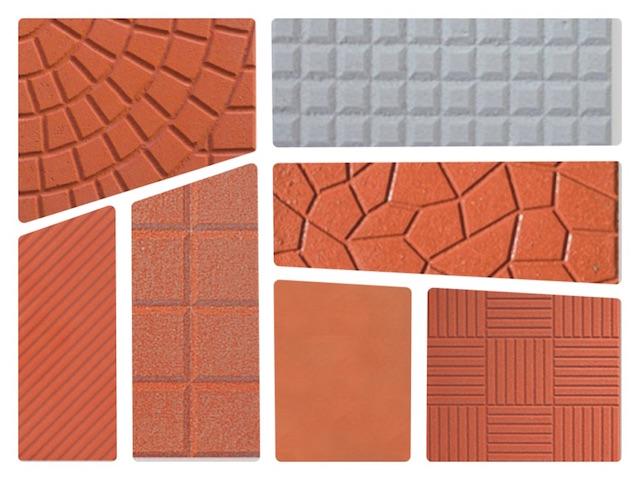 Mattonelle in cemento grezzi da esterno 25x25 - Cemento colorato per esterno ...