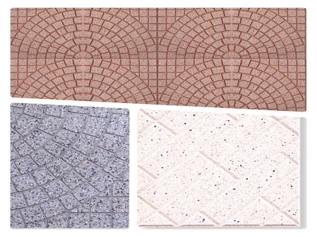 mattonelle in cemento levigati da esterno 33x33