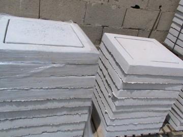 Coperchio pozzetto cemento