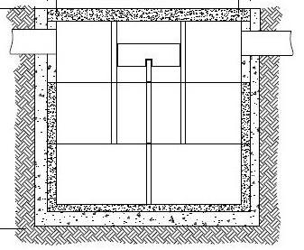 Vasche di decantazione in cemento per fosse biologiche for Fosse settiche in cemento